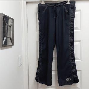 Vintage Y2K Nike track pants satin side panels